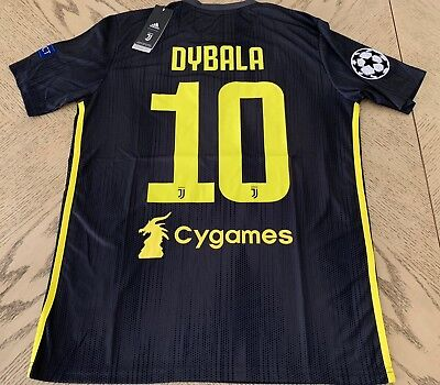 timeless design 2552a 61ac3 PAULO DYBALA CR7 #10 Official Juventus Jersey Champions Jeep USA Seller NWT  UCL