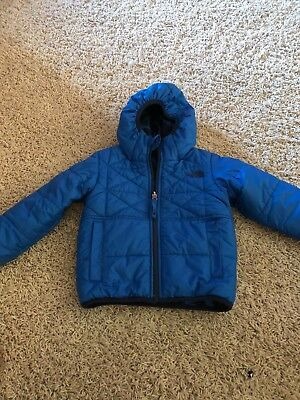 The North Face Toddler Boy Perrito Reversible Puff Jacket 3T