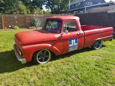 1963 Ford F-100 Short bed 1963 Ford F100