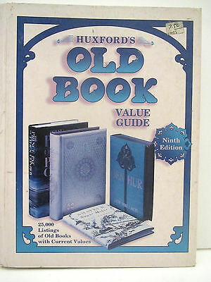 Huxfords OLD BOOK Value Guide