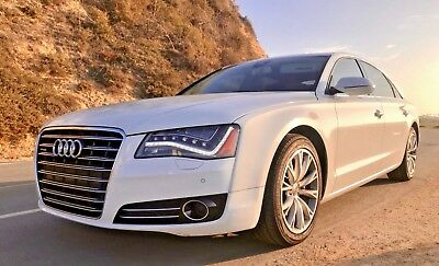 2012 Audi A8 Prestige 2012 Audi A8L Quattro Sedan Every Option Even Night Vision - Mint condition!