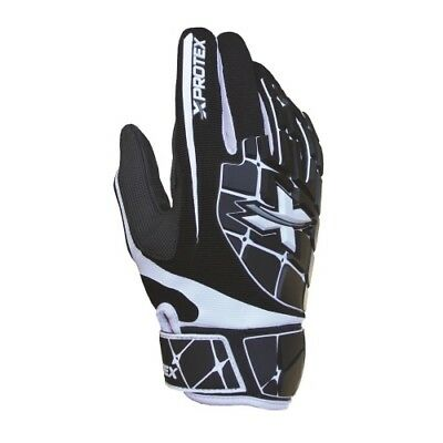 Xprotex Raykr Batting Gloves Pair - Black - XX-Large