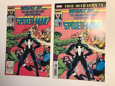 What If? #4 The Alien Costume Had Possessed Spider Man? KEY Early Venom / 8.0VF