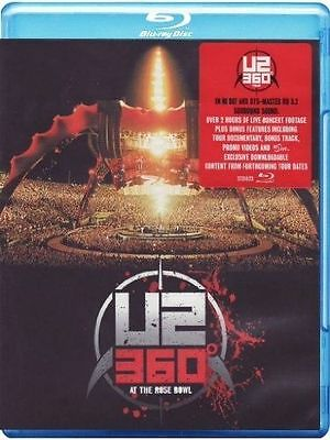 U2 360 Live At The Rose Bowl Blu-Ray All Regions New