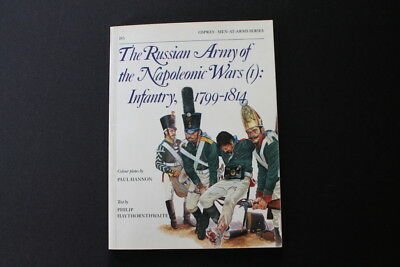 Osprey Russian Army of the Napoleonic Wars 1799-1814 uniforms Infantry