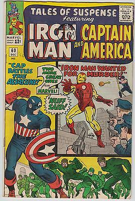 Tales Of Suspense #60, Cents, Captain America & Iron Man