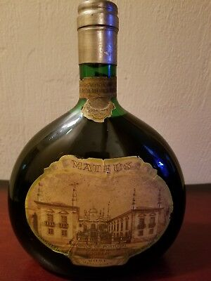 RARE Vintage Mateus Rose Still Wine Bottle Unopened Portugal Sealed 750 ml