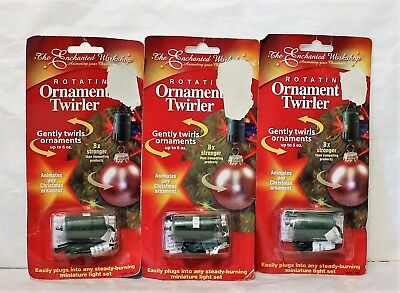 Rotating Ornament Twirler Motor by The Enchanted Workshop lot of 3