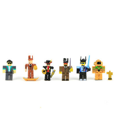 Roblox Game Character 6 Pcs Roblox Action Figure Cake Topper Kids