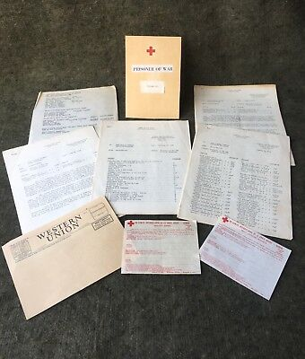 WWII POW Bulletins & More ~ 1945 American Red Cross ~ Press Release Kit