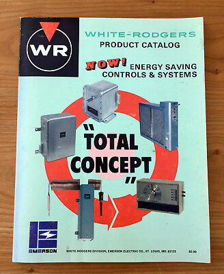 1976 White-Rodgers Energy Savings Controls & Systems Manual Oil-Gas Burner Mtrs