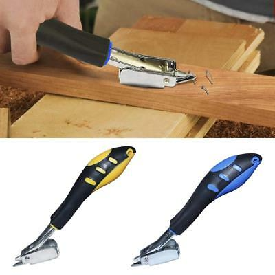 Stainless Steel Nail Puller Wrecking Prying Bar Nail Removal Tool Rubber Handle
