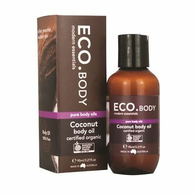 ECO Body Certified Organic Body Coconut Oil 95ml