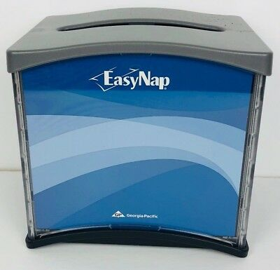 Bundle of 5 EasyNap Georgia Pacific 54527 Table Top Napkin Dispenser Gray Black