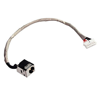 Ac Dc Power Jack Harness Plug Dc-In Cable For Lenovo Ideapad Y460P 6Pin