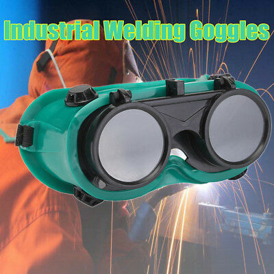 Welding Cutting Welders Goggles Head Safety Anti-light Radiation Flip Up Glasses