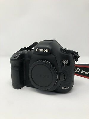 Canon EOS 5D Mark III 22.3MP Digital SLR Camera - Body Only Low Shutter Count