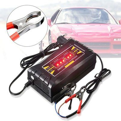 Car Battery Charger 12V/6A LED Light automobile intelligent battery Jump Starter