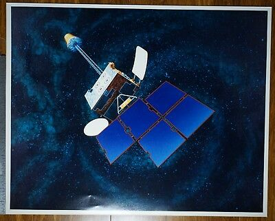 Insat-1A Satellite - original artwork print (NASA) (3 copies)