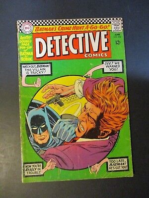 DC Comics  Batman # 352 / With Robin 1966 Vintage Old Comic Book