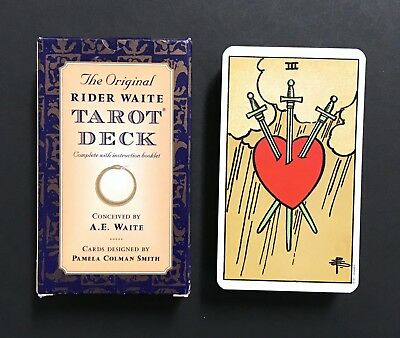 The Original Rider Waite Tarot Cards Deck Rider Books Random House 1999