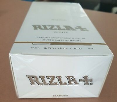 Rizla White Perforated Regular Standard Rolling Papers