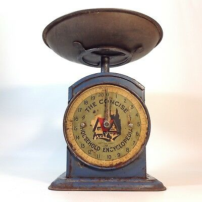 """Vintage Kitchen Scales """"The Concise Household Encyclopidea"""""""