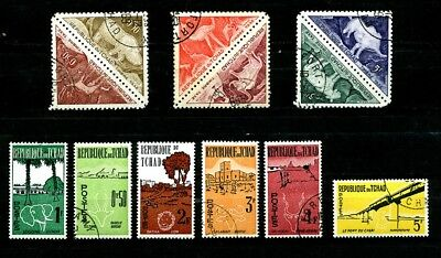 Chad stamps 1962 Animals, Independence CTO