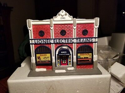 Dept 56 Snow Village Lionel Electric Trains