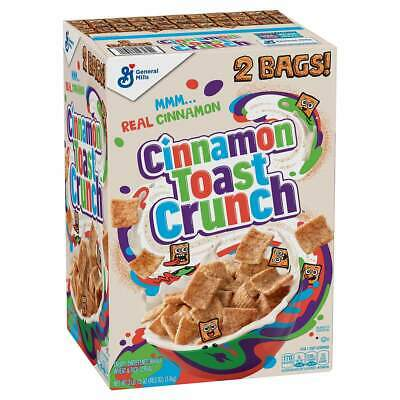 Cinnamon Toast Crunch Breakfast Cereal GIANT BOX 1.4kg OU Certification