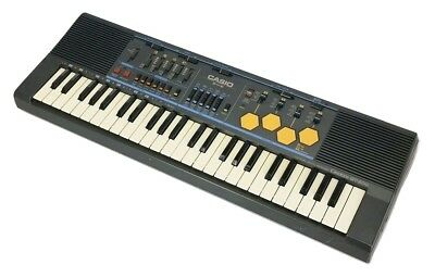 Casio MT-500 Electronic Keyboard Synth Drum Machine Vintage 1980's