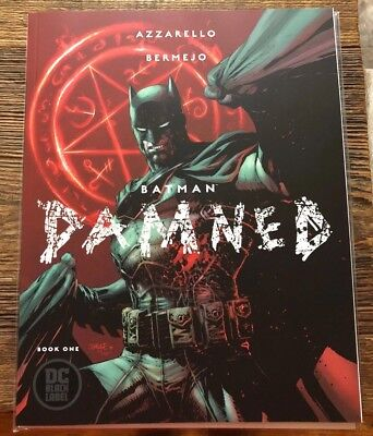 Batman Damned 1 Jim Lee Variant Mint