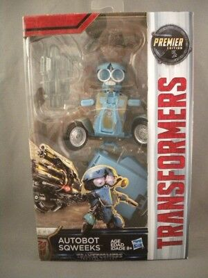Transformers SQWEEKS The Last Knight Autobot Deluxe Class Premier Movie Figure