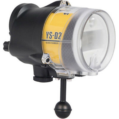 Sea And Sea YS-D2 Japan Underwater Photography Strobe Scuba Diving Flash Light