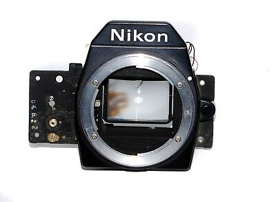 Nikon Em Camera Shutter Crate With Mirror Screen Timer & More