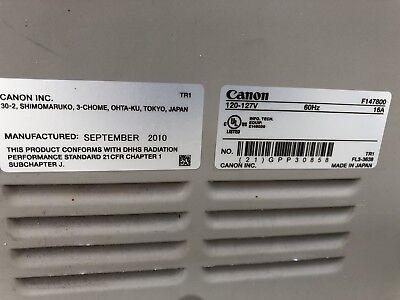 Canon ImageRunner Advance C7065 Copier NON-Working Parts only no reserve
