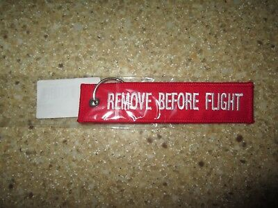 Remove Before Flight Embroidered