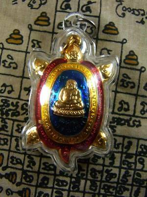 Amulet For Lucky Money LP LIEW Thai Magic Amulet Genuine from Temple