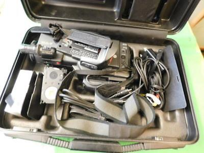 Panasonic S-Vhs-Compact Movie Camera Nv-Ms50 In Hard Case