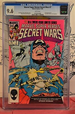 Marvel Super Heroes Secret Wars #7 CGC 9.6 First Appearance of New Spider-Woman