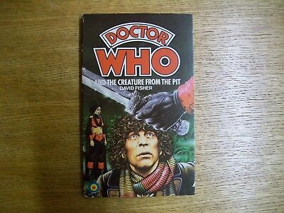 Doctor Who And The Creature From The Pit Target Paperback Book - 1981 - English