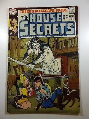 The House of Secrets #82 Sweet Neal Adams Cover Solid Fine Condition!!