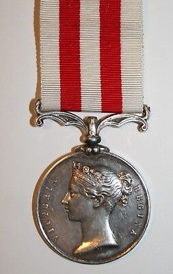 Indian Mutiny Medal - no Clasp - 1857 - to 73rd Highlanders - 2nd Black Watch.