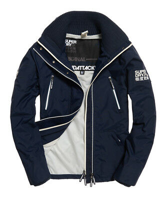 Mens Superdry Technical SD-Windattacker Core Navy
