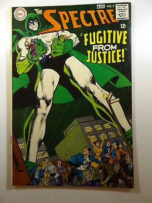 """The Spectre #5 """"Fugitive From Justice!"""" Beautiful VG/Fine Condition!!"""