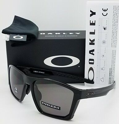 761eb91faf NEW Oakley Targetline Sunglasses Black Prizm Grey 9398-0158 Asian AUTHENTIC  line