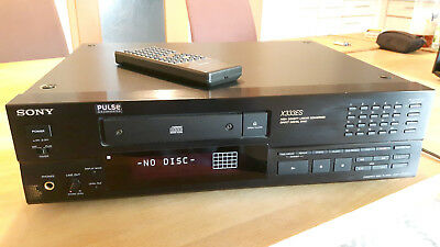 SONY CDP X333ES High End CD Player mit original FB  RM-D991