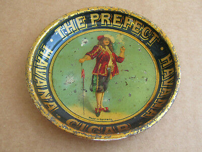 The Prefect Havana Cigar Antique Tip Tray - Very Cool