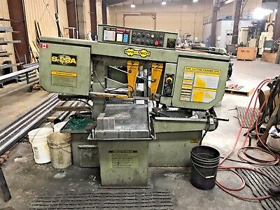 "Hyd-Mech S-23A Automatic Horizontal 16"" x 20"" Band Saw"