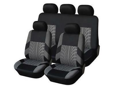 Trax Black Grey Car Seat Covers Cover For Nissan 370Z 370 Z Convertible 10 - 14
